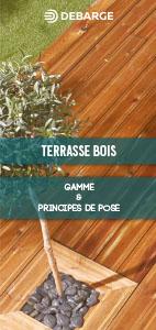Documentation et leaflet sur les terrasses bois, gammes et principes de pose