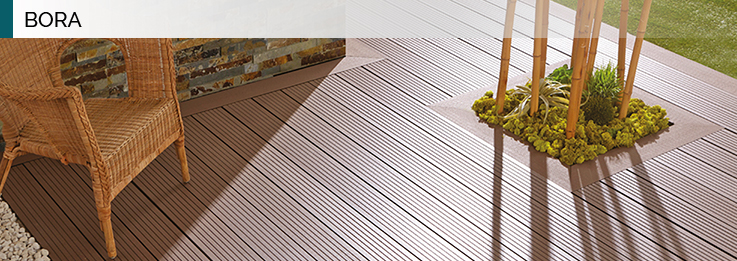 Terrasse composite bora
