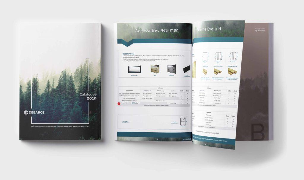 Aperçu Catalogue debarge bois 2019